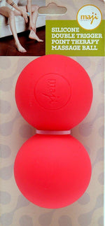 Silicone Double Trigger Point Ball