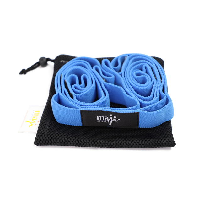 Elastic Yoga Straps (With 10 Loops)