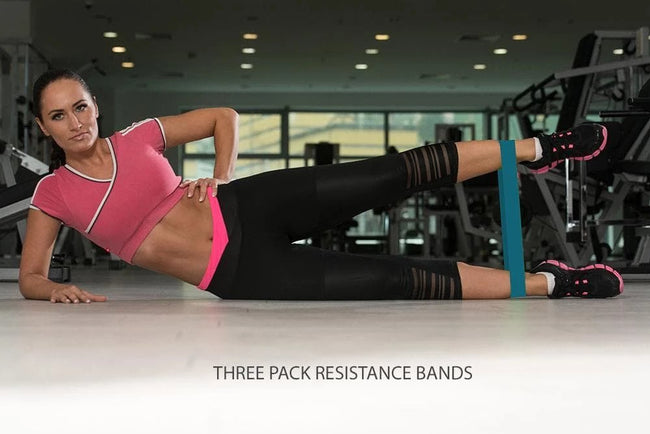Muscle Recovery & 3 Pack Resistance Band Bundle