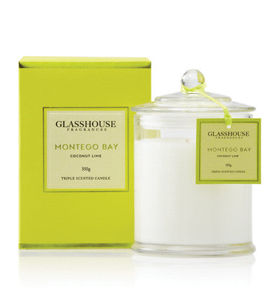 Montego Bay Glasshouse candle - 350g