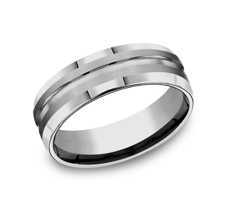 Benchmark 7mm Tungsten Carbide Men's Band