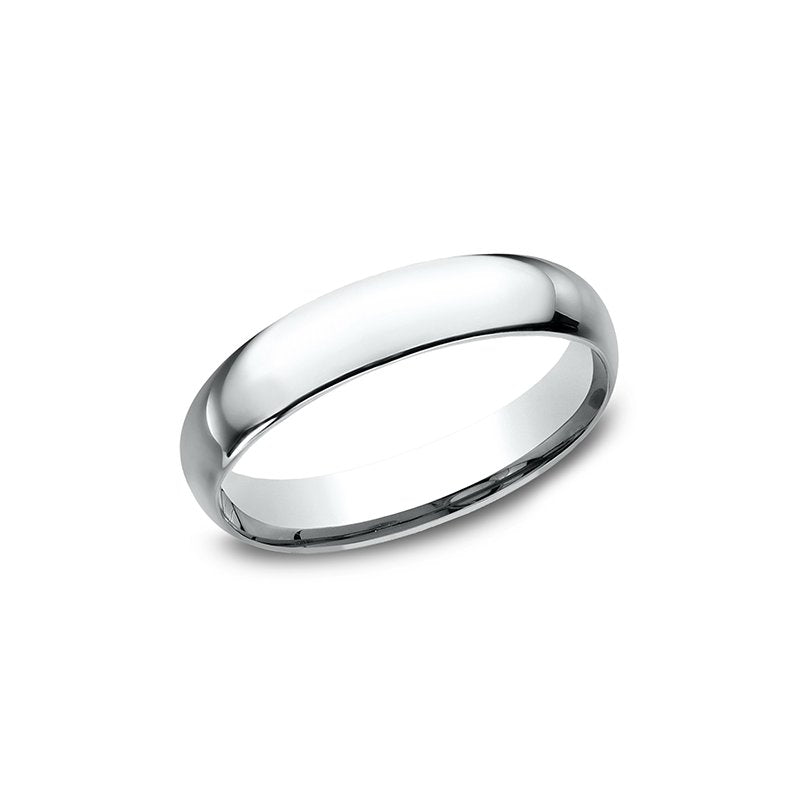 Benchmark Standard Comfort-Fit Men's Ring