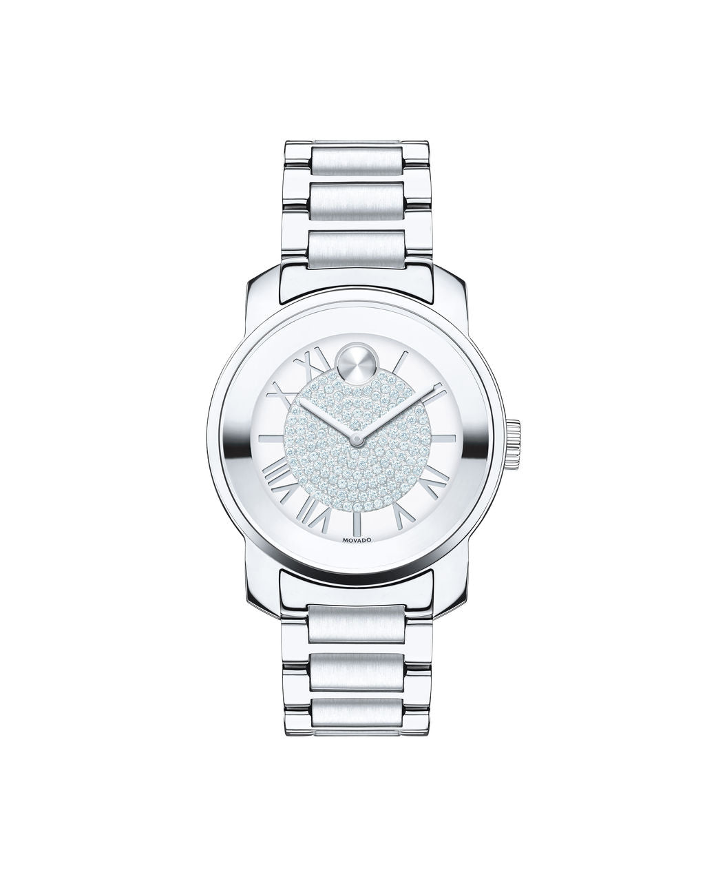 Movado Bold Crystal Pave Women's Watch