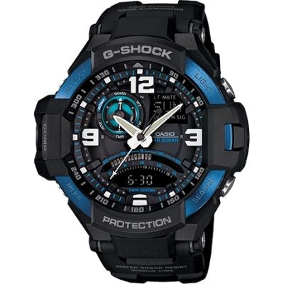 Casio G-Shock G-Aviation Compass Aviator Watch GA1000-2B