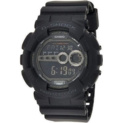 Casio Men's GD100-1BCR G-Shock Black Multi-Functional Digital Sport Watch