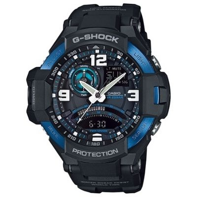 Casio G-Shock Gravity Master Aviation Digital Compass Watch GA1000-2B