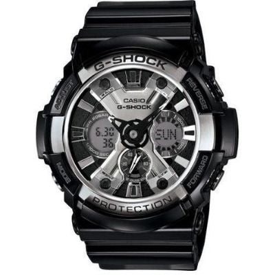 Black Casio G-Shock Anti-Magnetic Watch GA200BW-1A