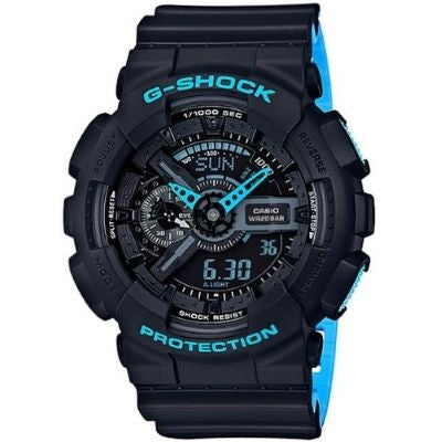 Casio G-Shock Black Analog Digital Sports Watch GA110LN-1A