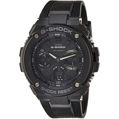 Casio Men's G Shock GSTS100G-1B Black Resin Japanese Quartz Sport Watch