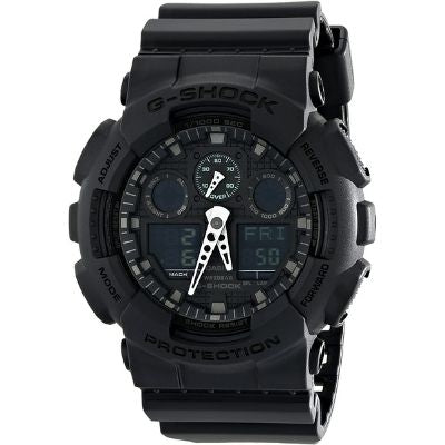 Casio Black Resin GD100-1B G-Shock Watch