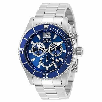 Invicta Men's Specialty 0620 Blue Stainless-Steel Swiss Quartz Watch