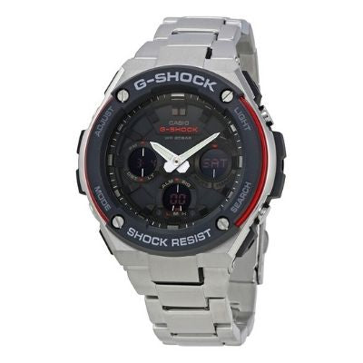 G-Shock G-Steel Black Dial Men's Stainless Steel Sports Watch GSTS100D-1A4