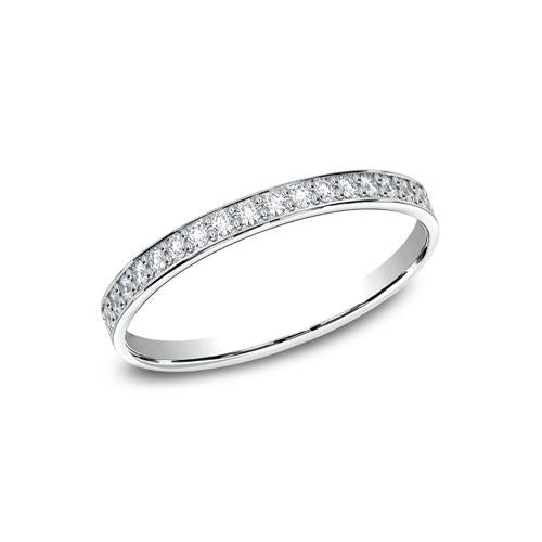 Benchmark Pave Set Diamond Ladies Band