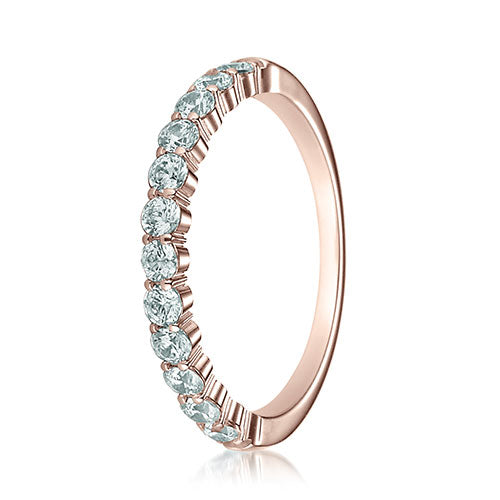 Benchmark 2.5mm 12 Stone Diamond Ladies Band