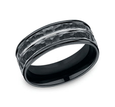 Benchmark Forge Cobalt 8mm Men's Band