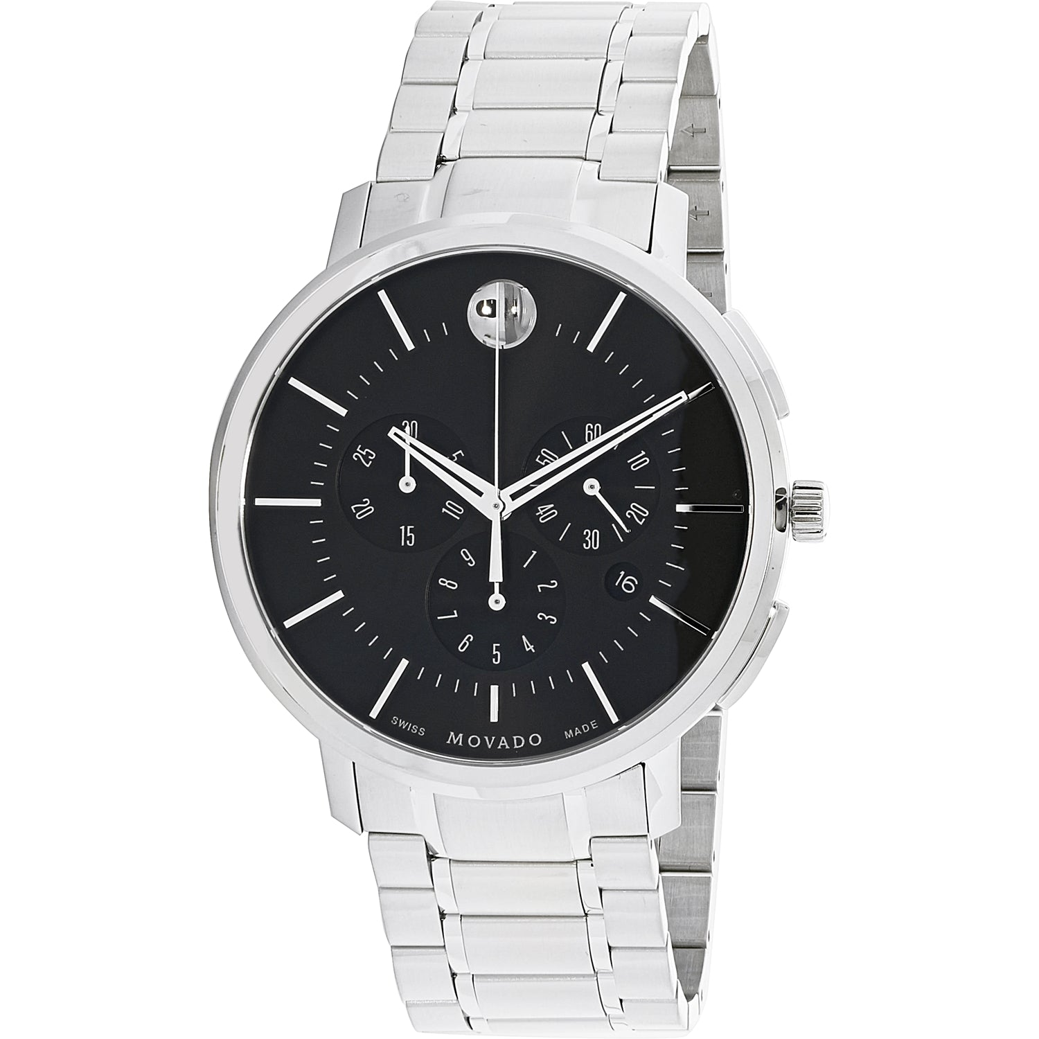 Movado Men's Analog Display Swiss Quartz Watch