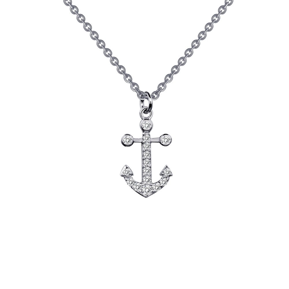 Lafonn Anchor Pendant Necklace