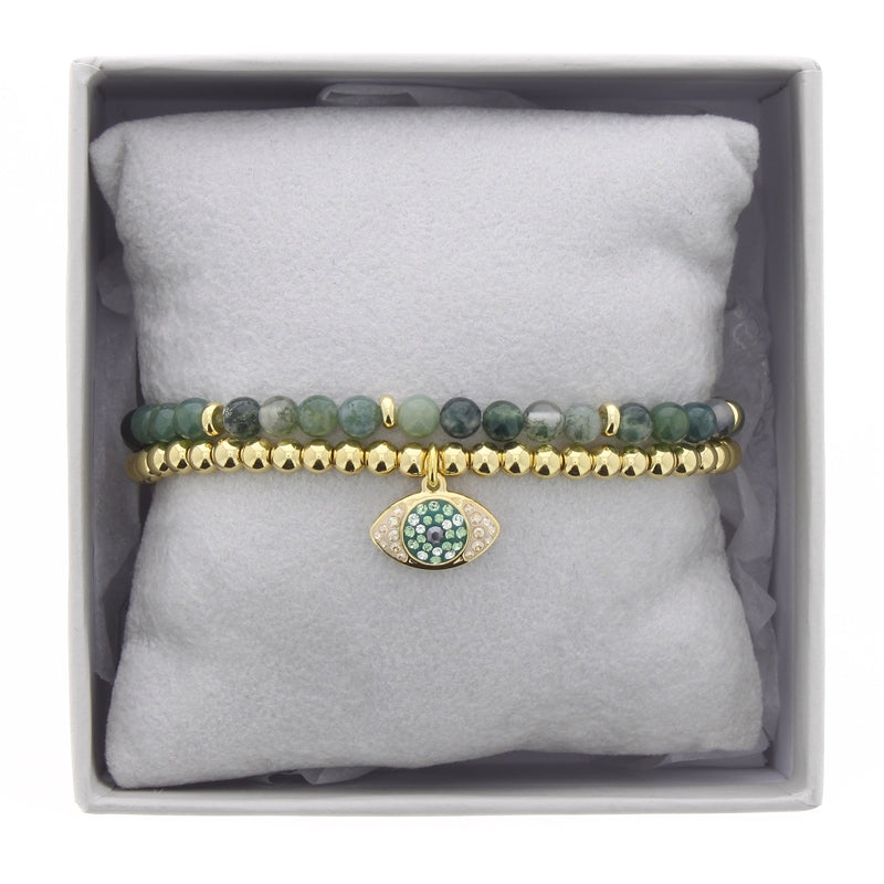 Les Interchangeables - Green Eye Bracelet