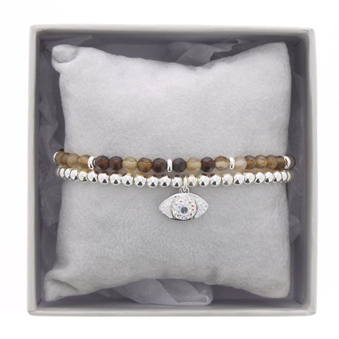 Les Interchangeables - Brown Eye Bracelet