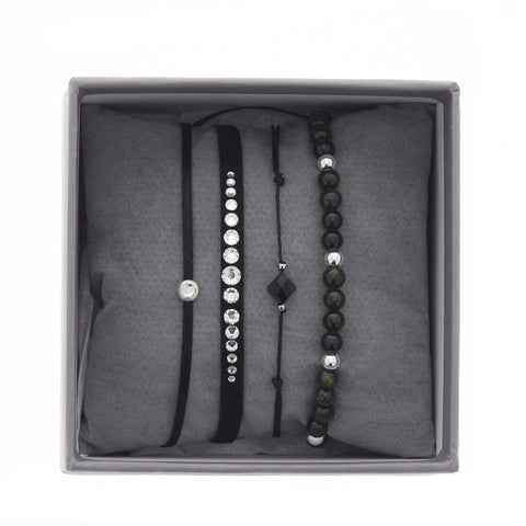 Les Interchangeables - Black Glam Bracelet