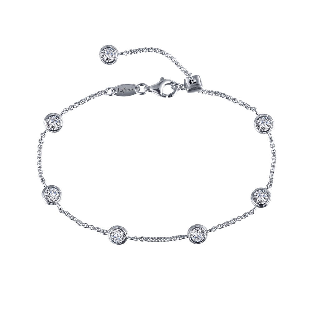 Lafonn Adjustable Station Bracelet