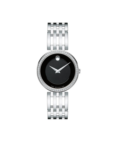 Movado Esperanza Women's Watch with Black Dial