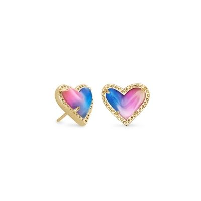 Kendra Scott Ari Heart Stud Earring