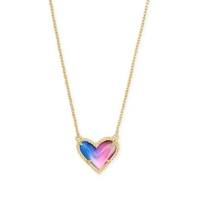 Kendra Scott Ari Heart Short Pendant
