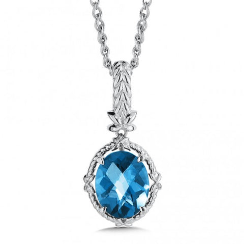 Color SG - London Blue Topaz Pendant