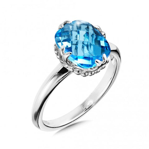 Color SG - Blue Topaz Ring