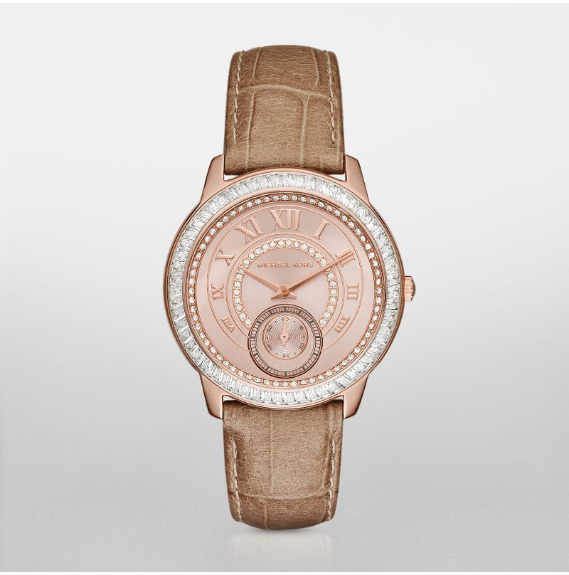 Michael Kors Women's Madelyn Brown Watch