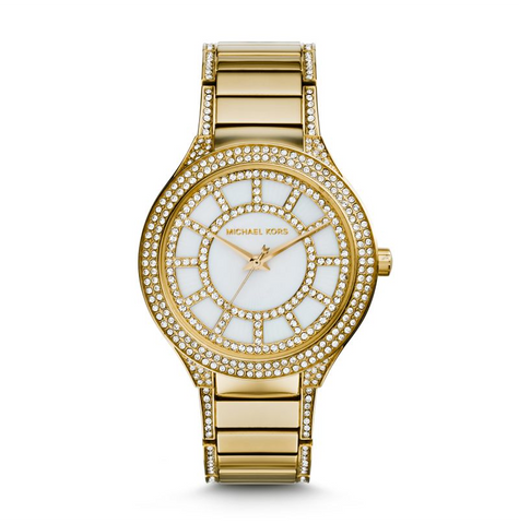 Michael Kors Women's Gold-Tone Kerry Watch