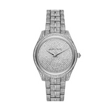 Michael Kors Women's Lauryn Pavé Three-Hand Watch