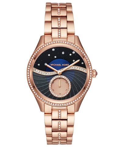 Michael Kors Women's Lauryn Rose Gold-Tone Watch