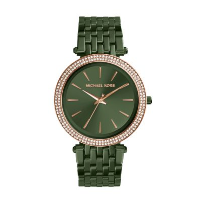 Michael Kors Women's Darci Olive Watch