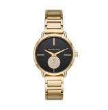 Michael Kors Women's Portia Gold-Tone Watch