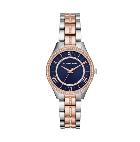Michael Kors Women's Lauryn Three-Hand Two-Tone Watch