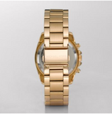 Michael Kors Women's Gold-Tone Runway Midsized Watch