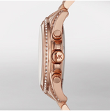 Michael Kors Women's Rose Gold-Tone Pressley Watch