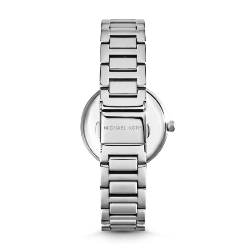 Michael Kors Women's Silver-Tone Skylar Watch MK5988