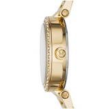 Michael Kors Women's Gold-Tone Mini Parker Watch