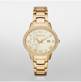 Michael Kors Women's Gold-Tone Whitley Watch