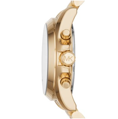 Michael Kors Unisex Gold-Tone Bradshaw Watch