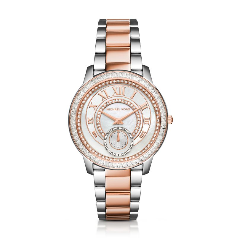 Michael Kors Women's Silver Madelyn Watch