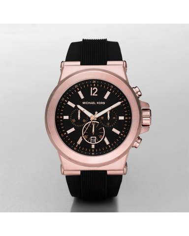 Michael Kors Men's Rose Gold-Tone Dylan Watch