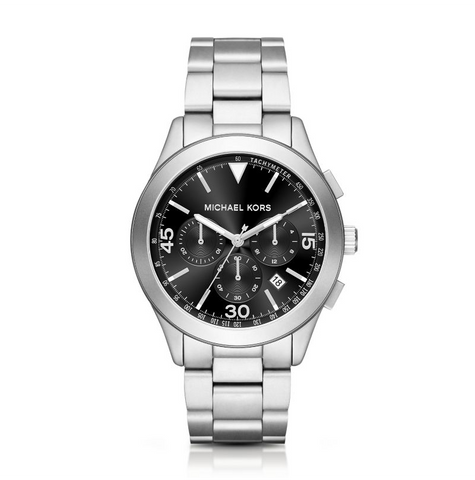Michael Kors Men's Gareth Stainless Steel Chrono Watch