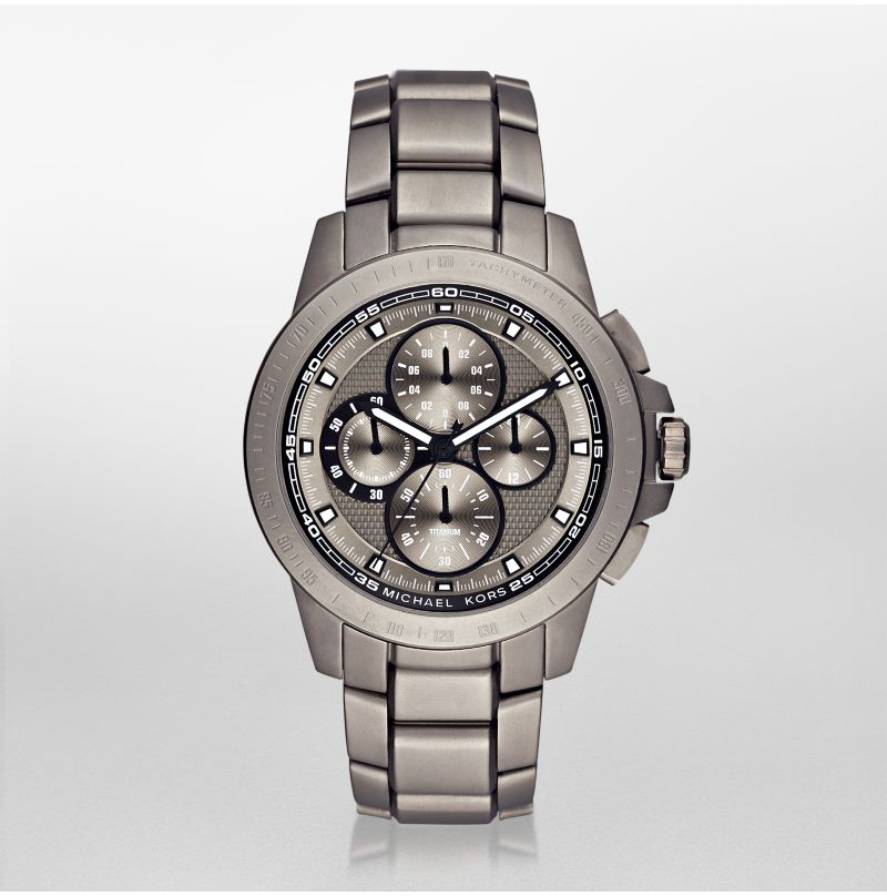 Michael Kors Men's Ryker Titanium Watch