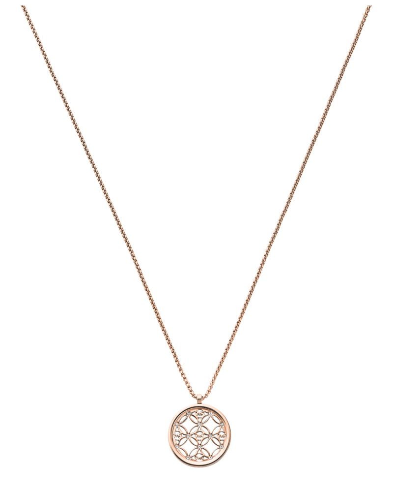 Michael Kors Open Monogram Necklace
