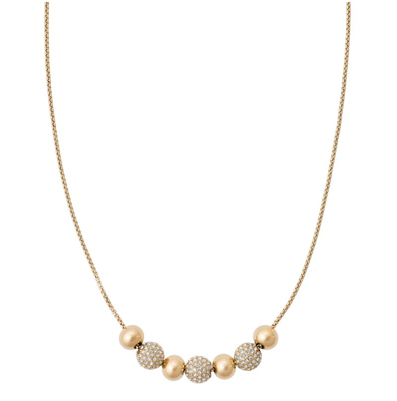 Michael Kors Pavé Beaded Necklace