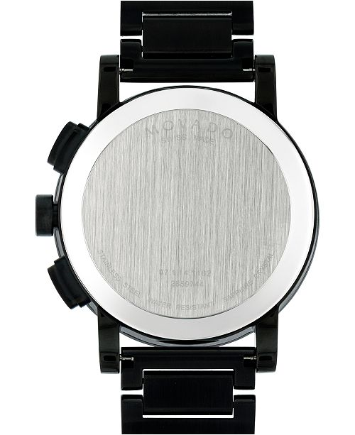 Movado Museum® Sport  PVD Men's Watch with Black Dial